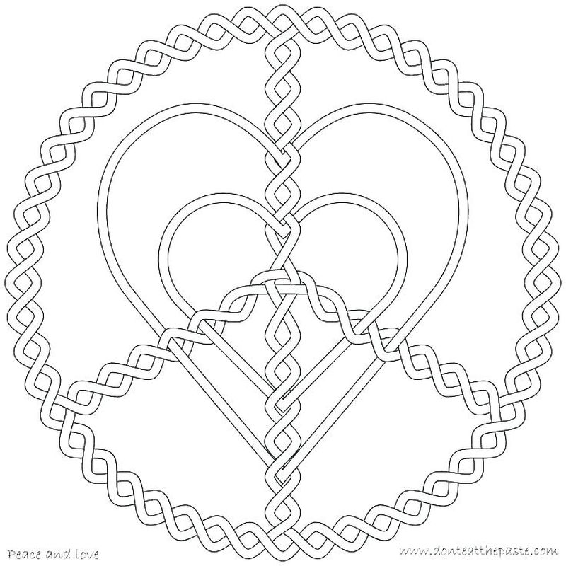 True Love Coloring Pages Printable