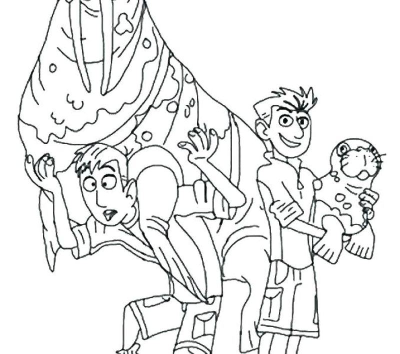 Wild Kratts Brothers Coloring Pages Printable