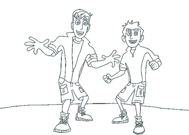 Wild Kratts Coloring Pages Free Printable