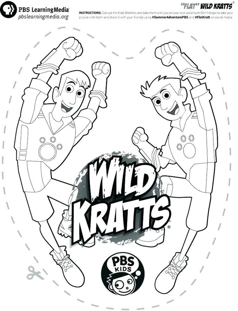 Wild Kratts Coloring Pages Rattlesnake Printable