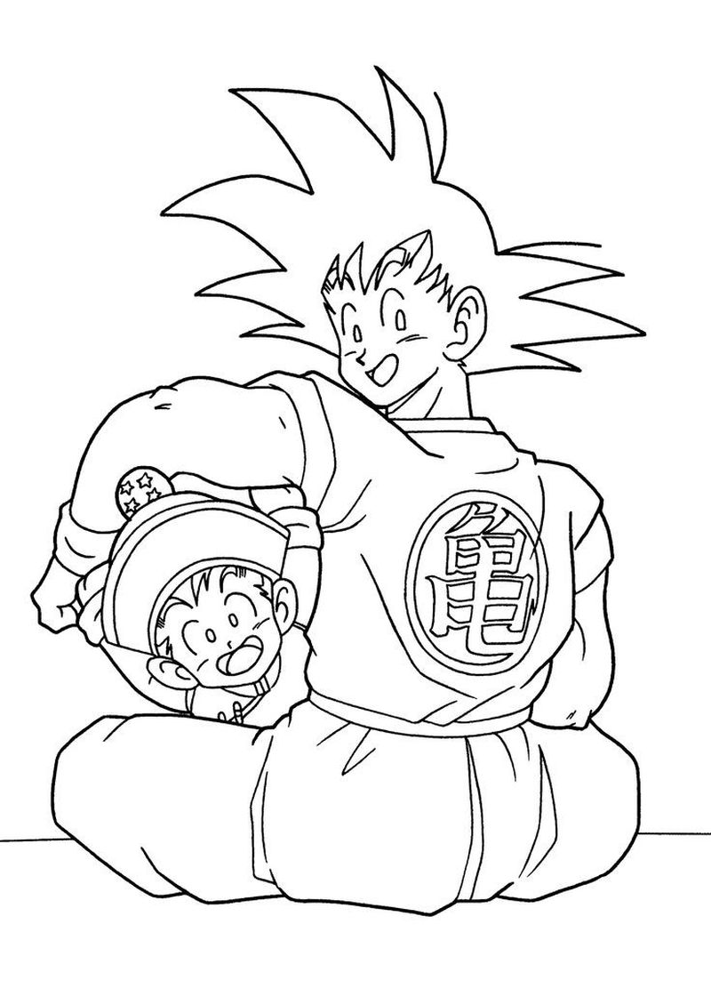 a picture of dragon ball z