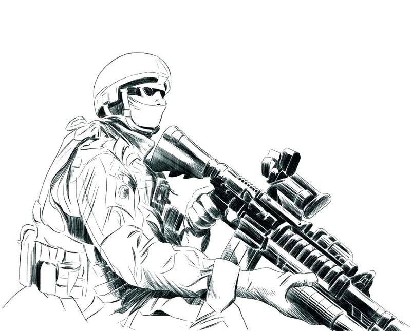 adult coloring pages army
