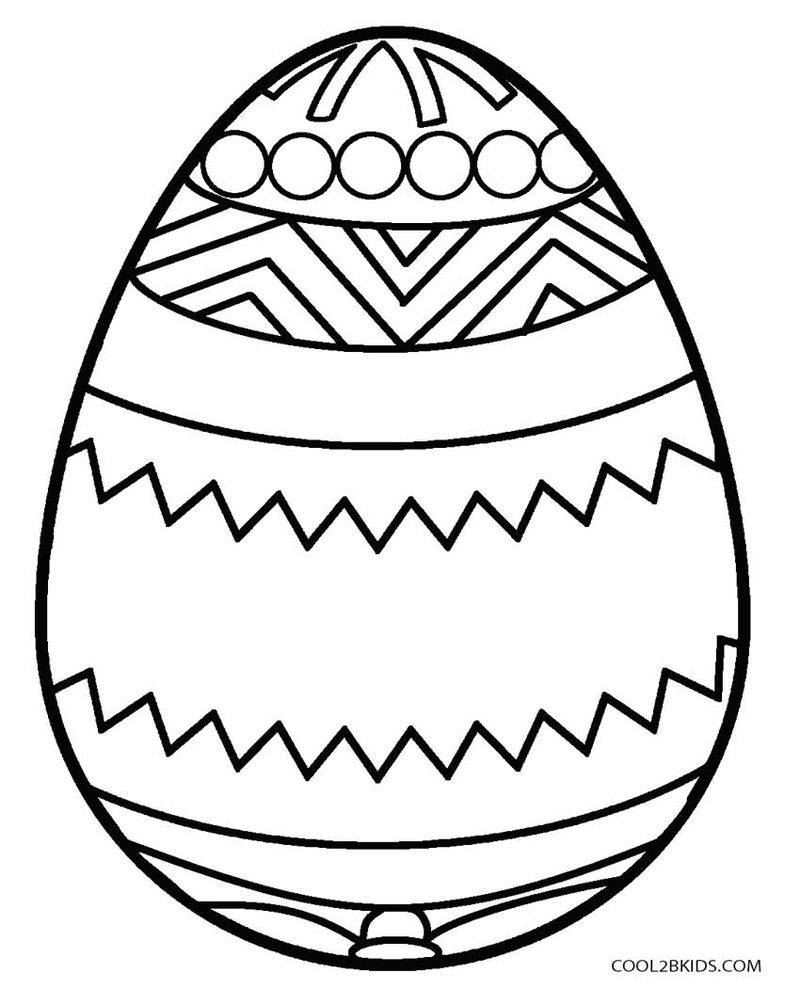 adult easter egg coloring pages