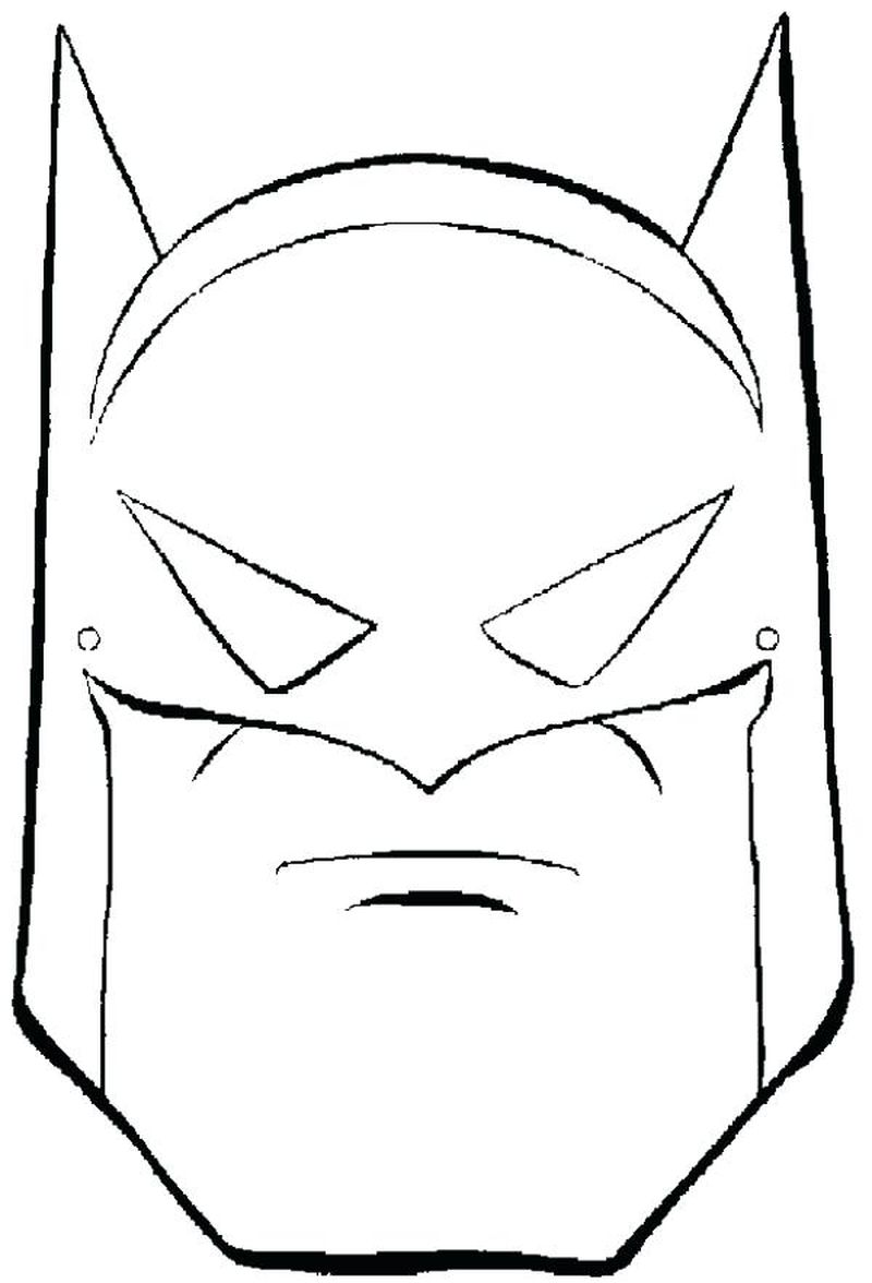 animal mask coloring pages