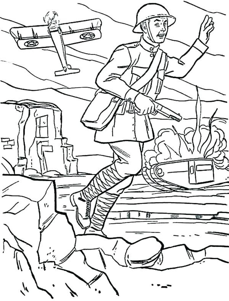 army coloring pages humers