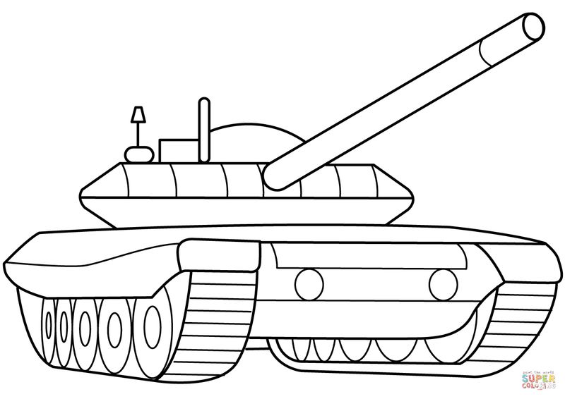 army equipment coloring pages