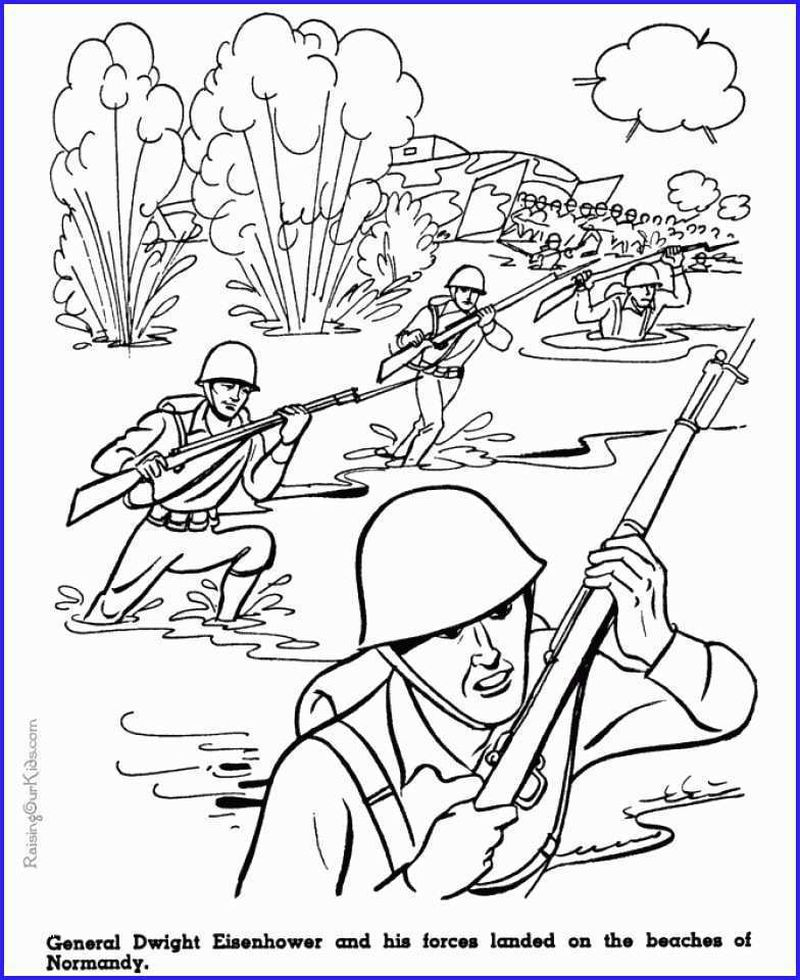 army fiter get coloring pages