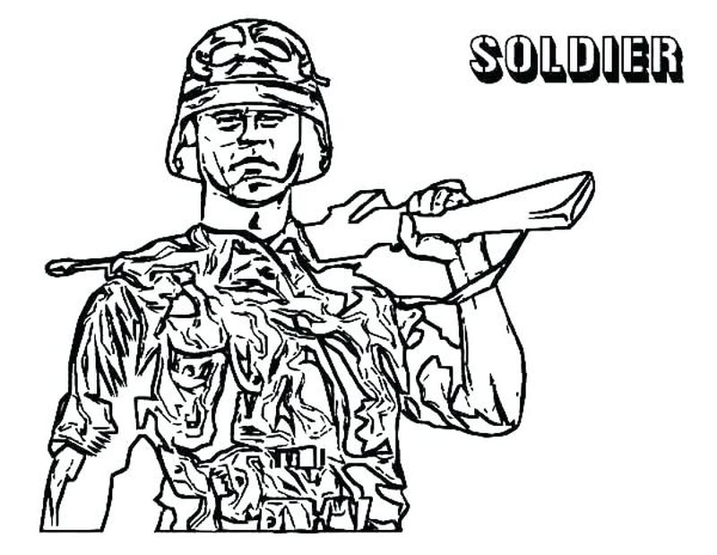army flag coloring pages
