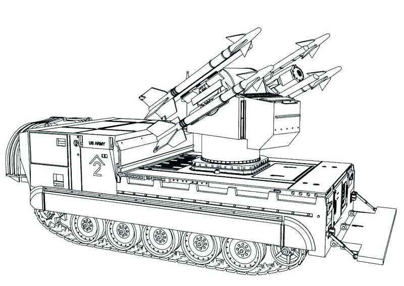 army gun coloring pages
