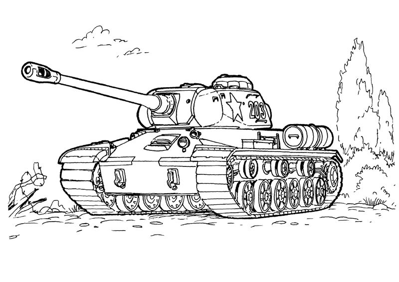 army guns coloring pages