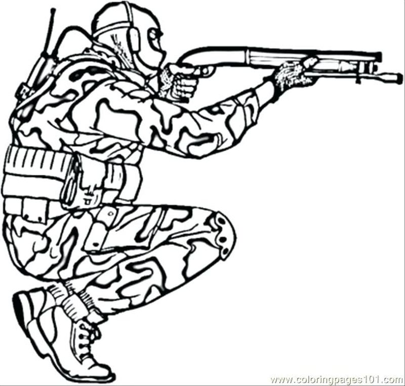 army guy coloring pagesPrintable