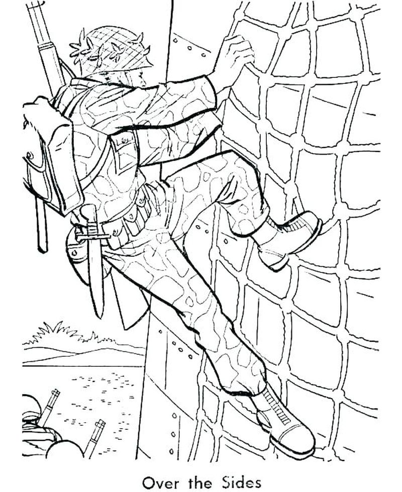 army navy airforce coloring pages