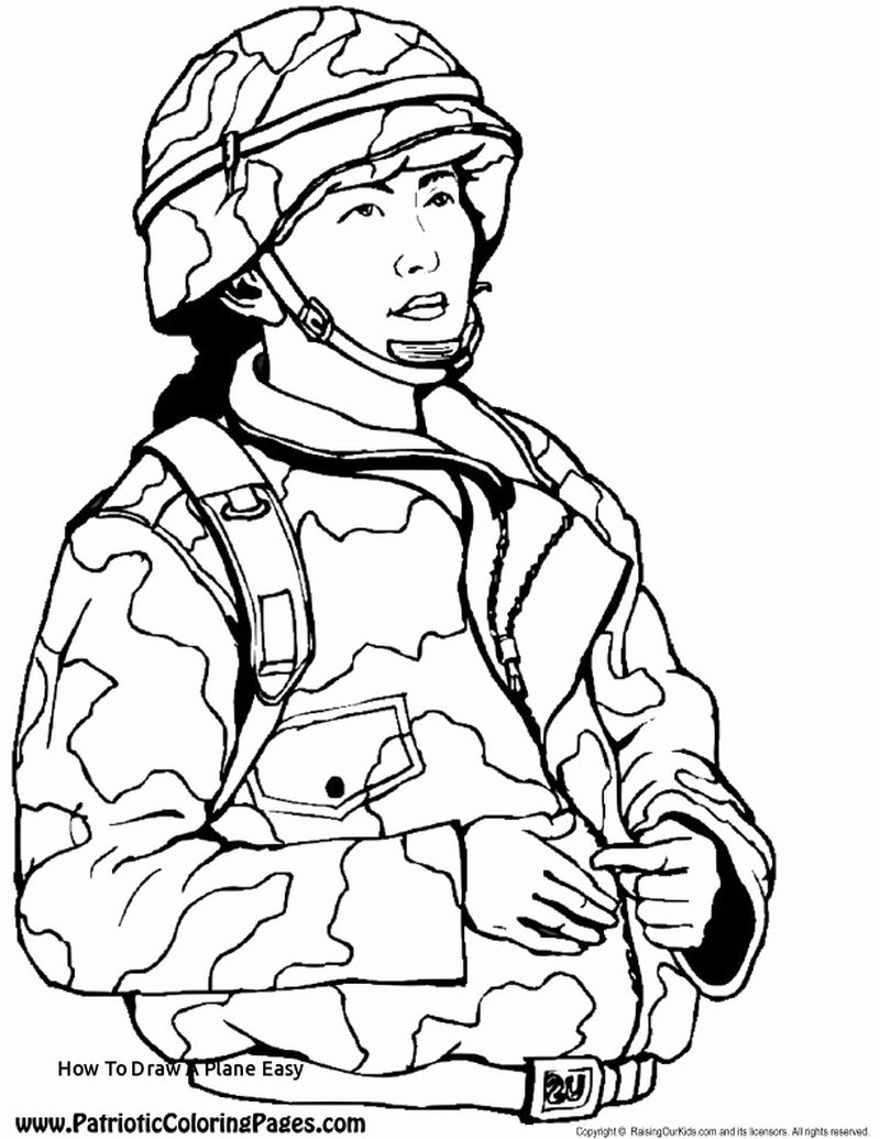 army pilot coloring pages