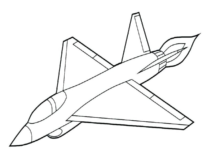 army plane coloring pages