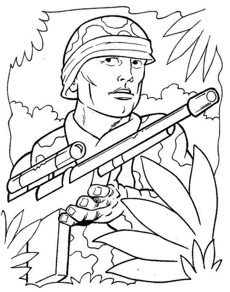 army plane free online coloring pages