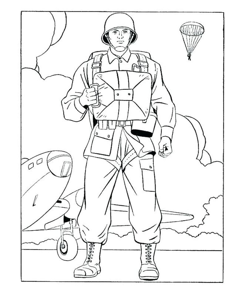 army roblox coloring pages