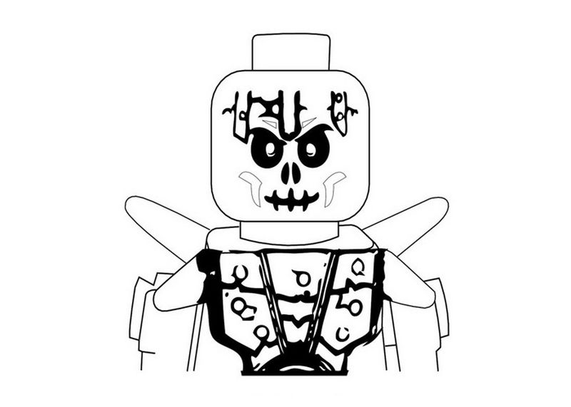 bunny and skeleton coloring pages