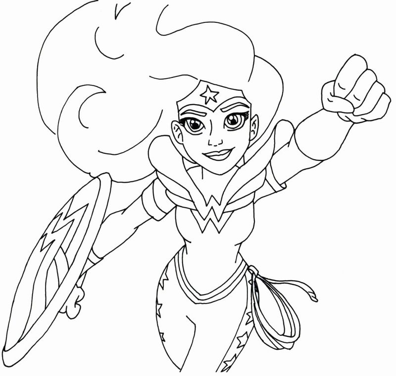 captain marvel logo coloring page