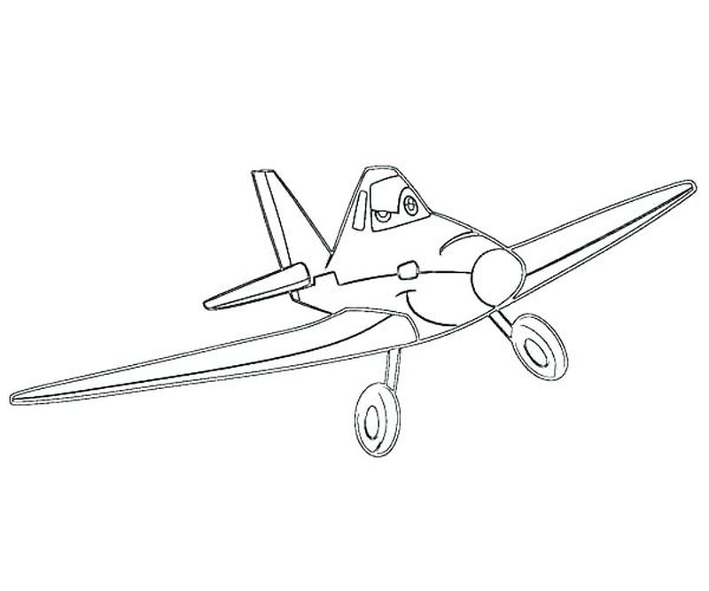 cars and planes coloring pages