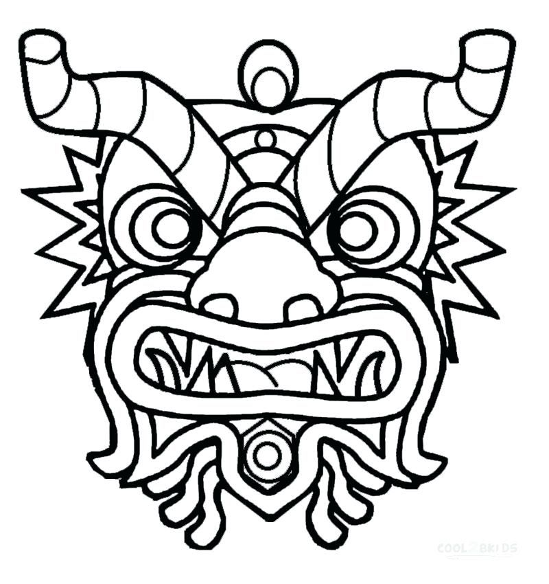catboy mask coloring page
