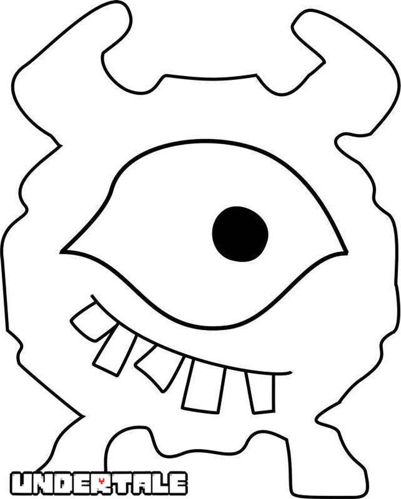 chibi chara undertale coloring pages