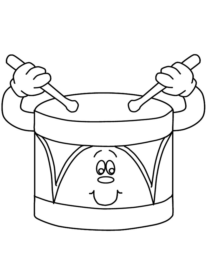 christian music coloring pages