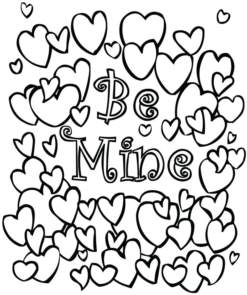 christian valentines day coloring pages