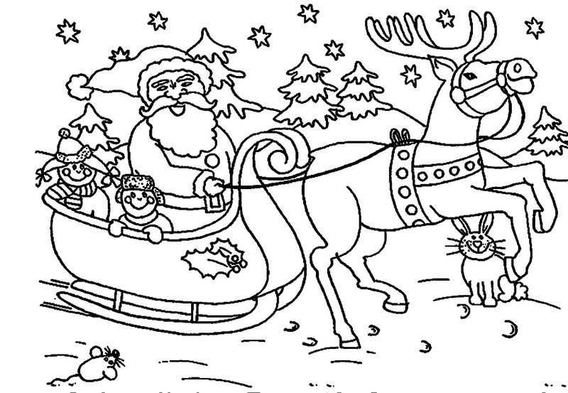 christmas coloring pages baby rudolph