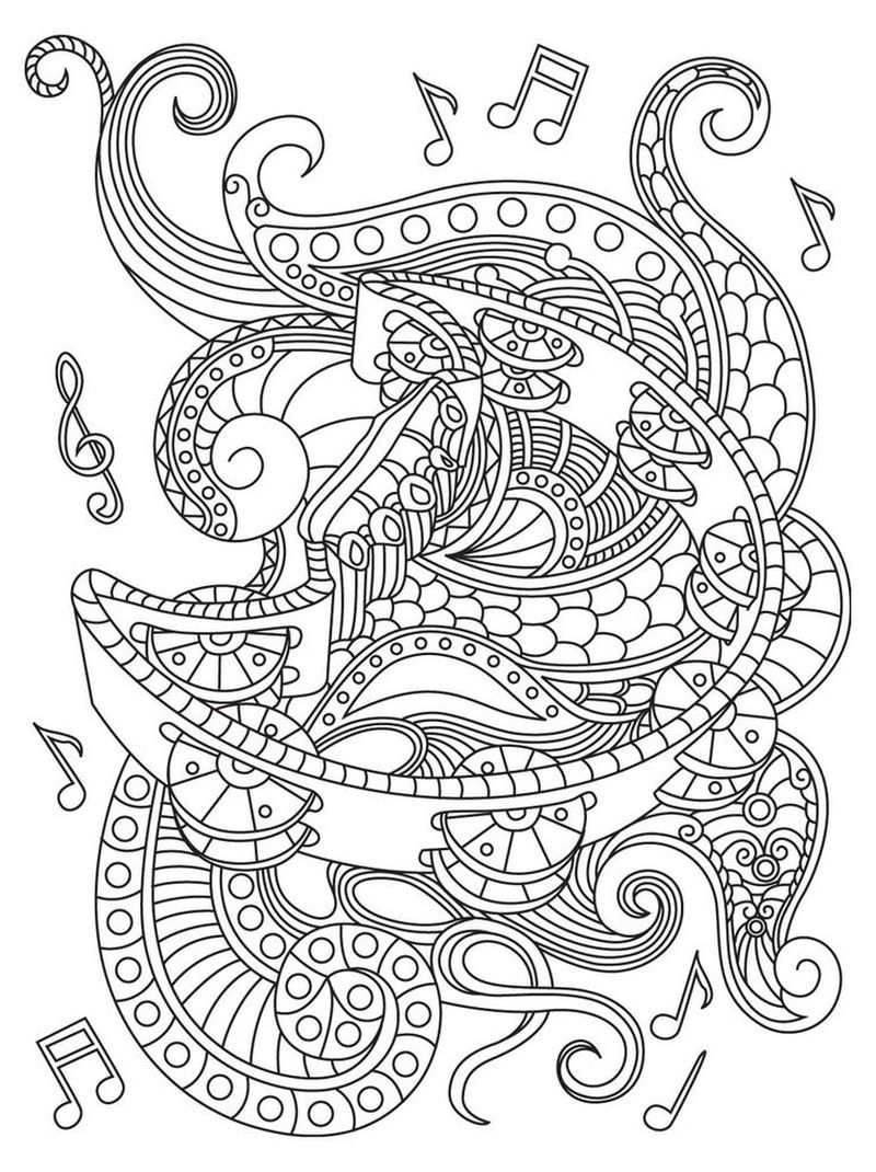classical music coloring pages