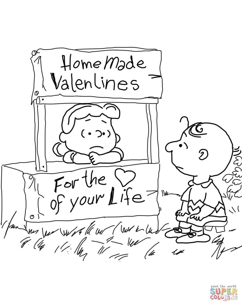 coloring book pages valentines