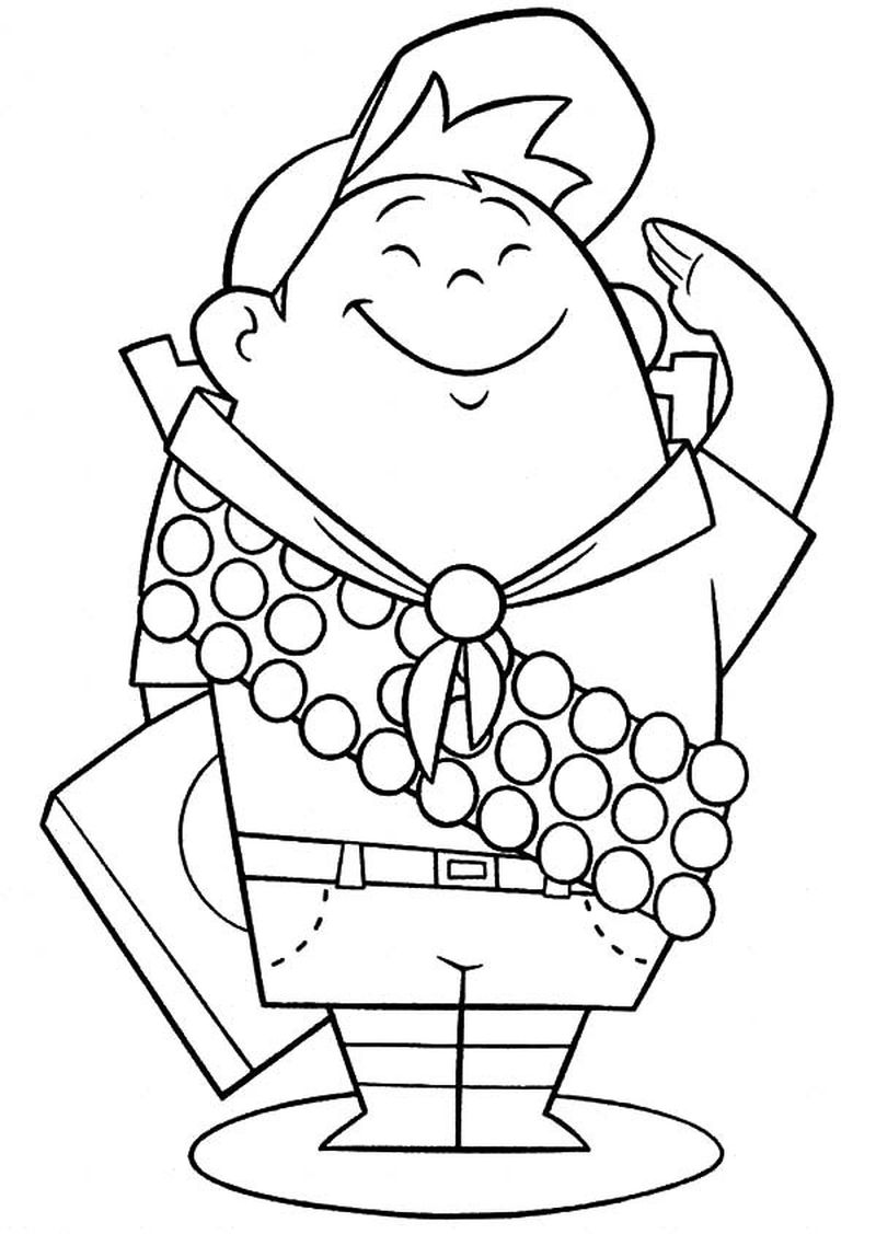 coloring page of house