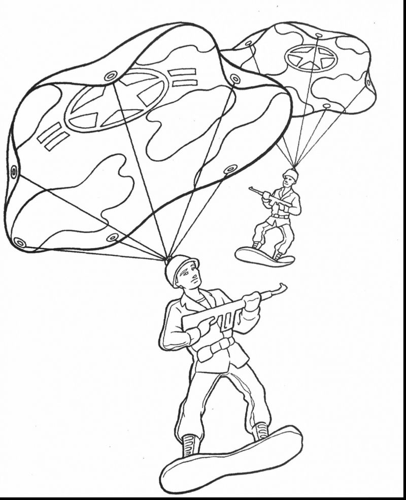 coloring pages army shooting trucks for children free