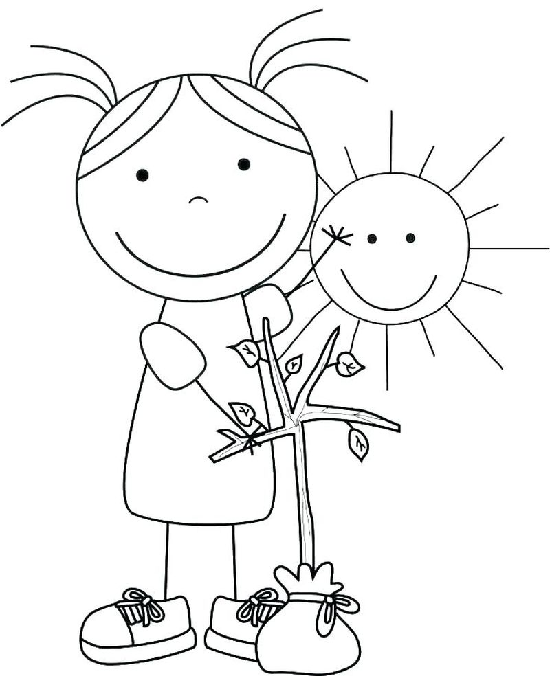 coloring pages earth day