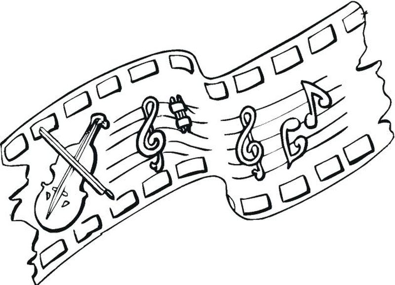 coloring pages for music class
