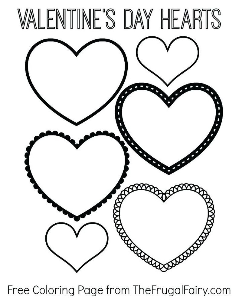 coloring pages for valentines day Printable Printable