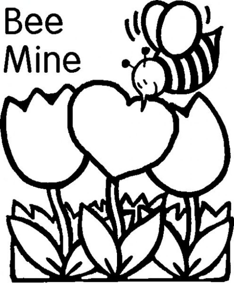coloring pages for valentines day cards