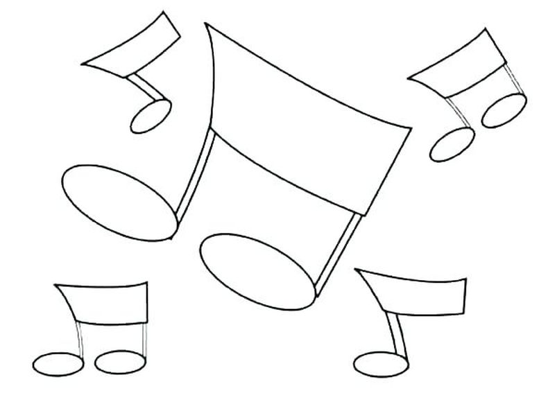 coloring pages of music instruments