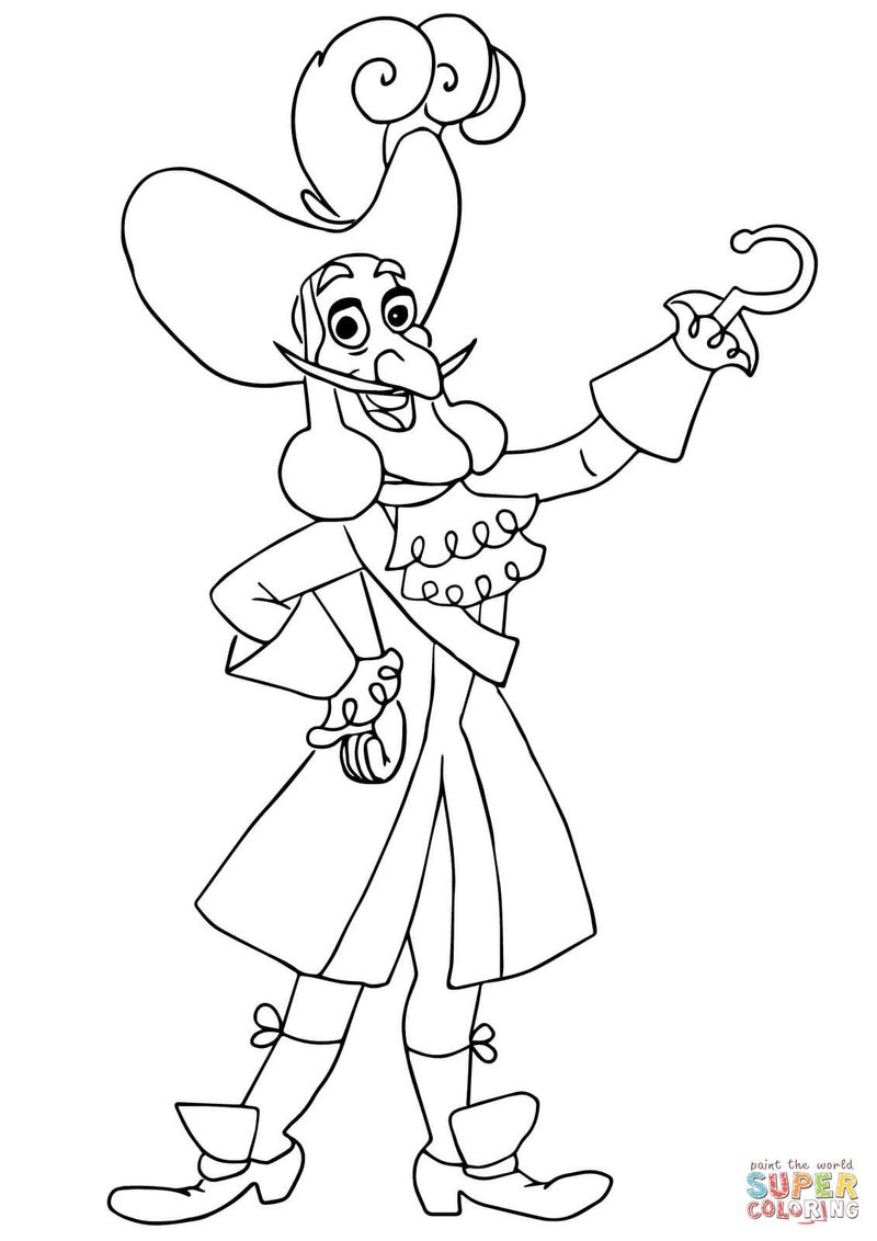 coloring pages of peter pan