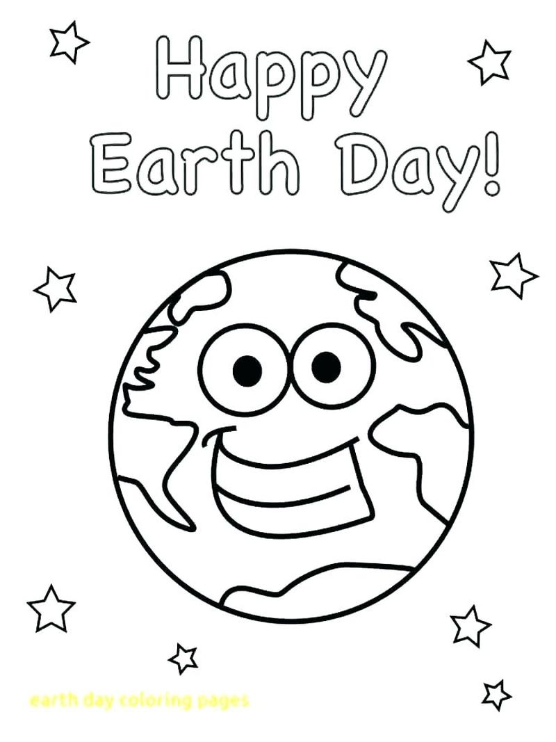coloring pages of the earth