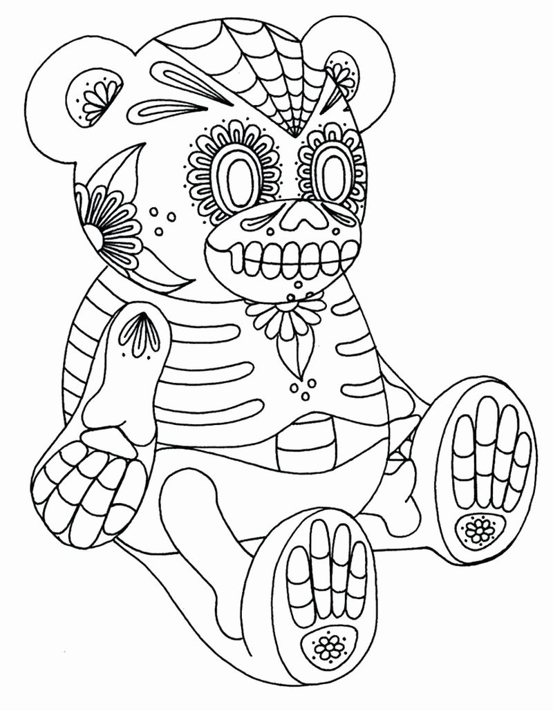 coloring pages of the human skeleton