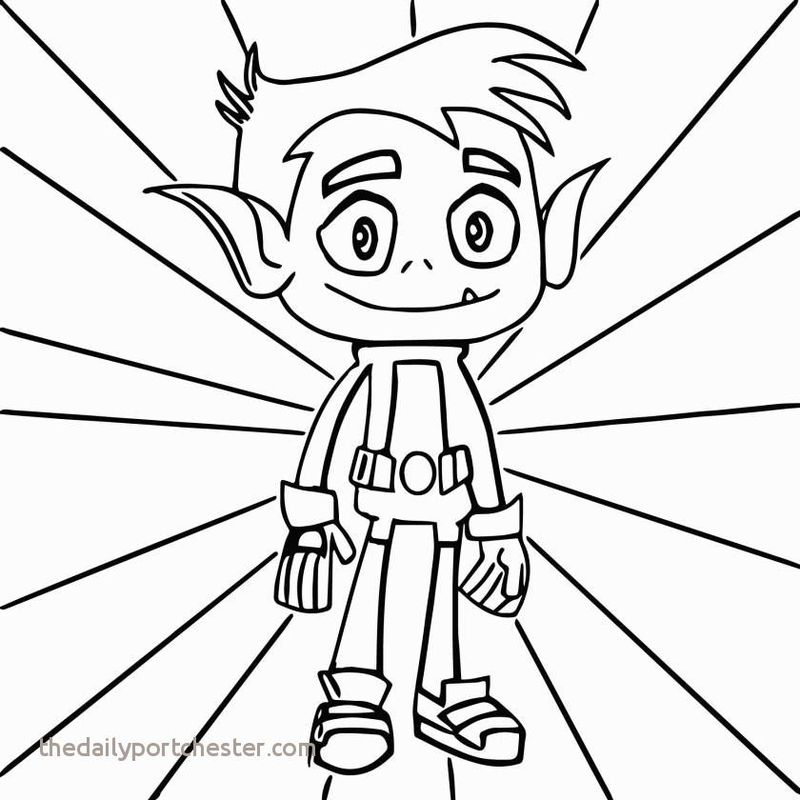 coloring pages teen titans go Printable