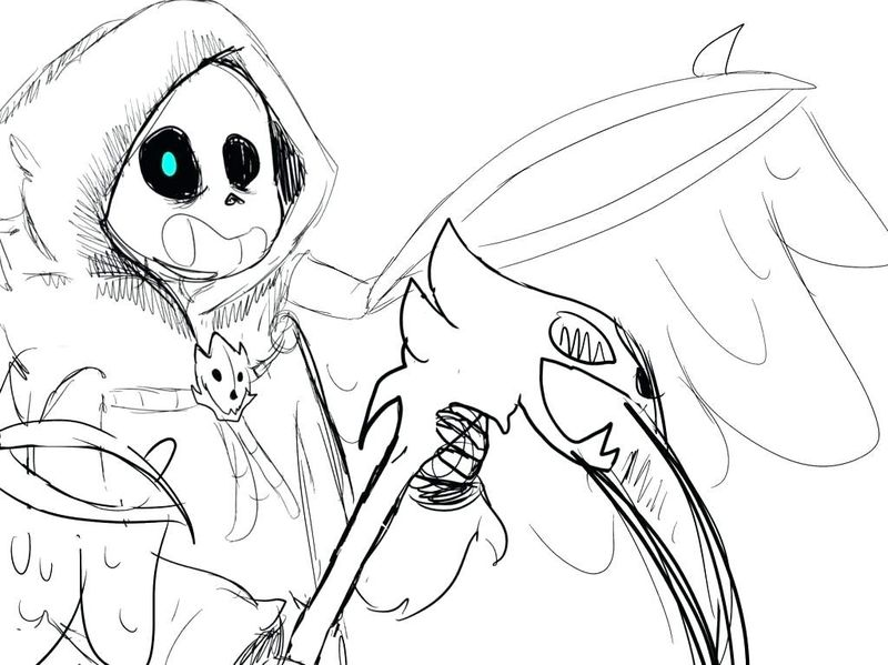 coloring pages undertale characters