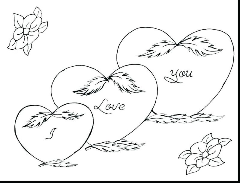 coloring pages valentines Printable Printable