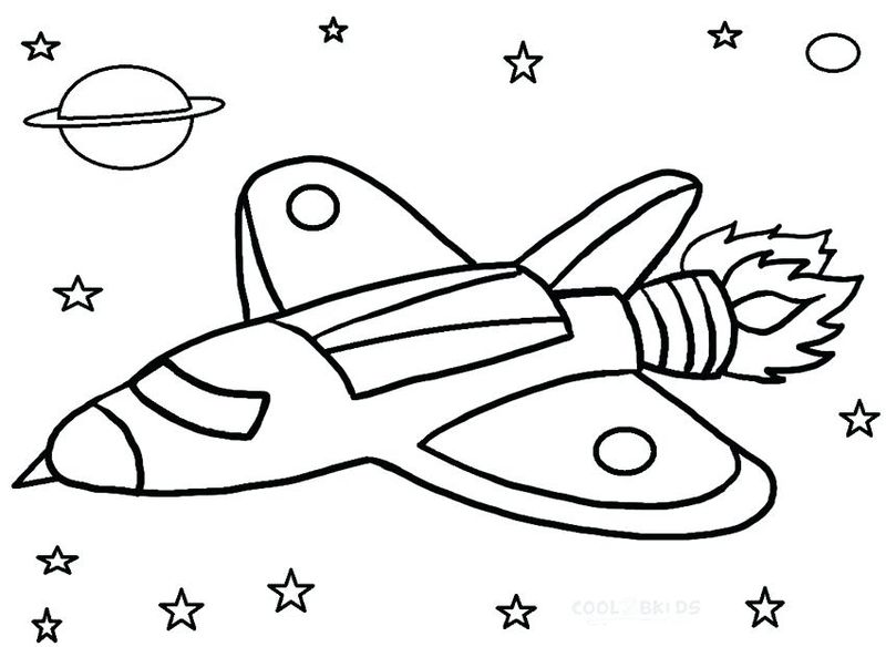 connect the dots space ship coloring pages