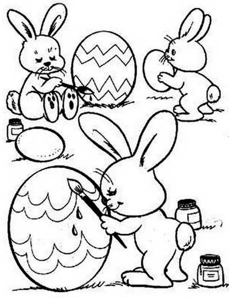 cool easter egg coloring pages