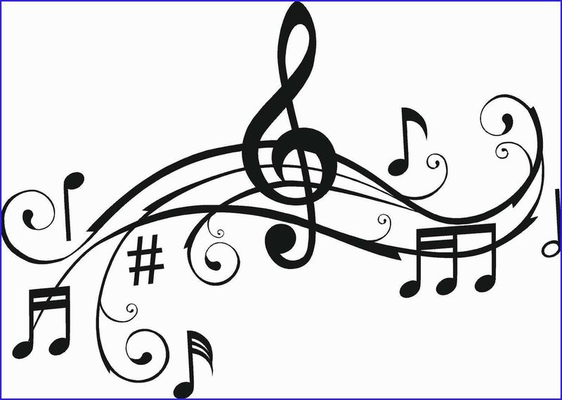 cool music notes coloring pages