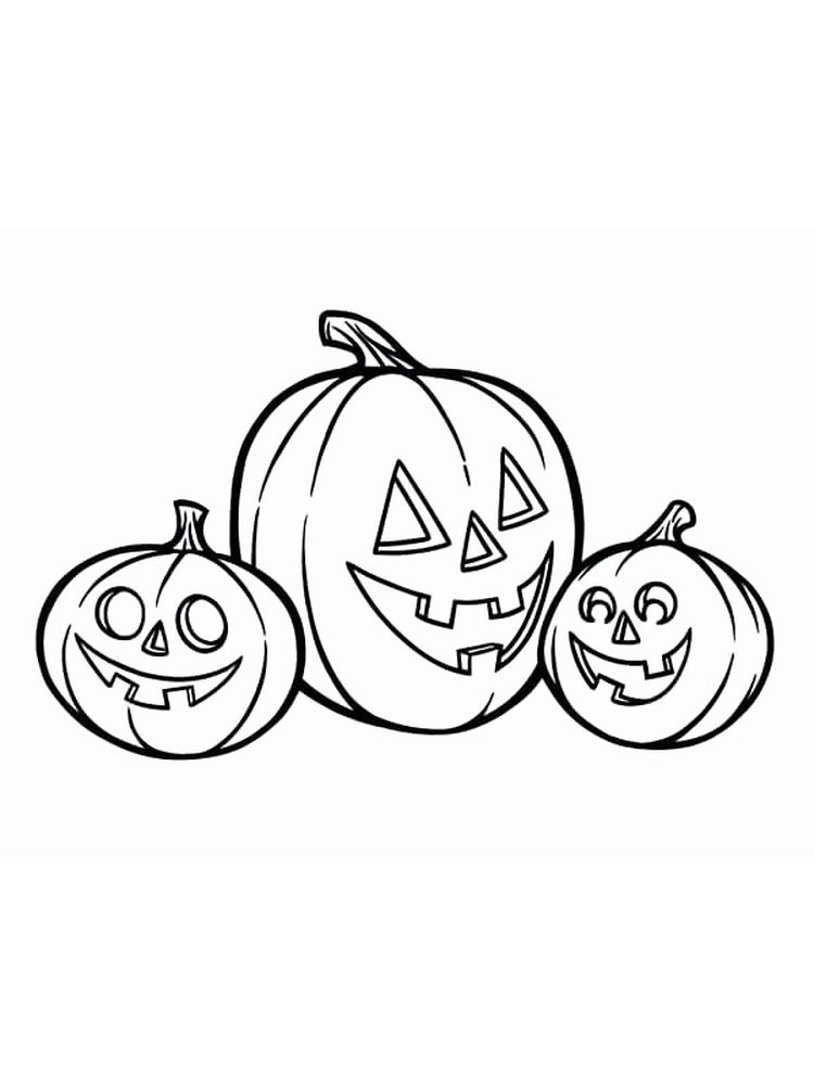cute jack o lantern coloring pages print