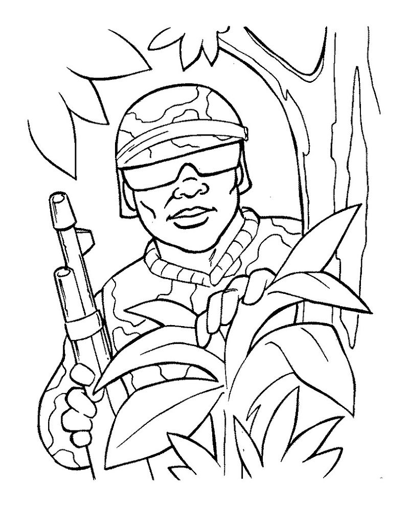 david visits brothers in army coloring pages Printable
