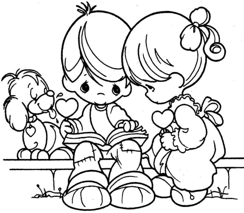 detailed valentines day coloring pages