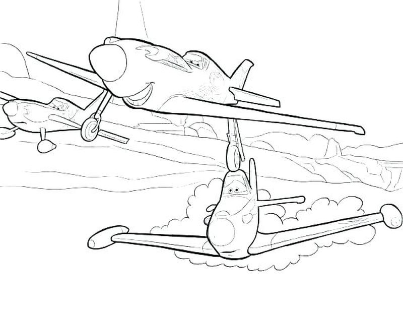 disney planes coloring pages to print